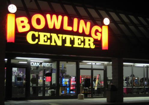 Oak Ridge Bowling Center, Oak Ridge, TN